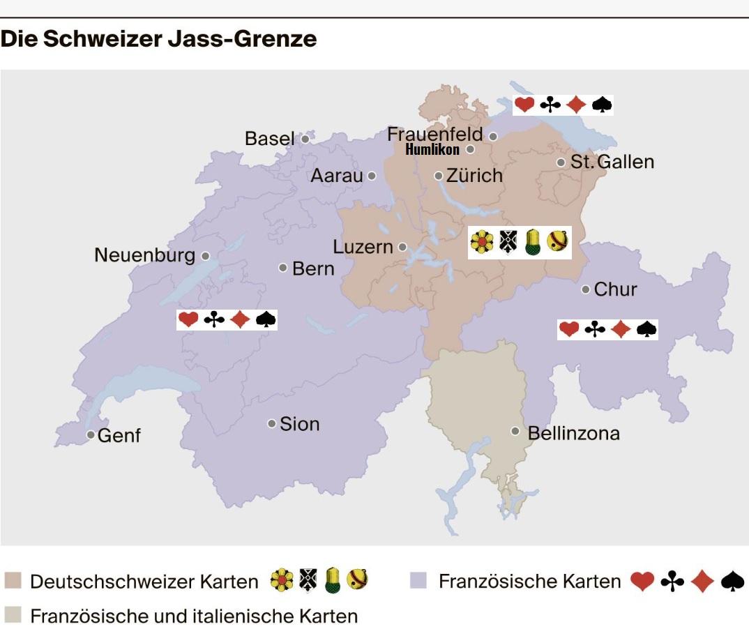 Die Schweizer Jass - Landschaft !