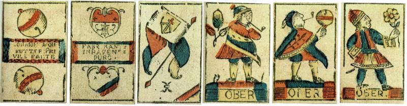Jasskarten um 1805